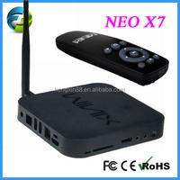 1080p android tv box dvb t2 quad core xbmc jailbreak Minix neo x7 rk3188 quad core cortex A9 mini pc androil tv box