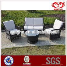 2016 Luxury patio garden furniture outdoor rattan sofa set wicker furniture