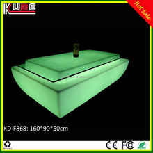 LED Furniture KD-F868 LED center square table for living room