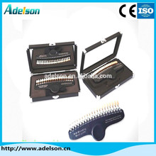 Alibaba wholesale dental portable tooth shade guide for teeth whitening P01