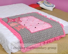 2015 new product cute butterfly design 100% cotton kids bedroom sets kids quilt cover set children bedding set gift for your fri
