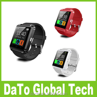 Free Shipping No Camera U8 Bluetooth Smart Wrist Watch Phone for Android IOS Phones