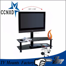 Conference system/Outdoor movable /Luxury floor free lcd / led TV stand series with kinds of screens for different size TV