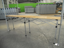 1.5m 3m 2M outdoor table height adjustable table Wooden folding table for tent