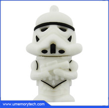 Star Wars shaped pen drive direct from china pendrive wholesale usb flash drive manufacturing machine