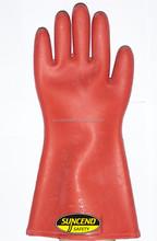 12kv high voltage electrical insulating gloves electrician prevent electric charging 12 volt operation 10KV gloves rubber glove