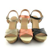 Sex High Heel Shoe Lady wedge/Woman Sandal