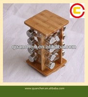 Unique High Quality Bamboo Spice Rack