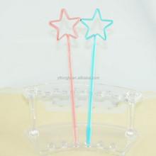 Star pentagram shaped ball pen for gift