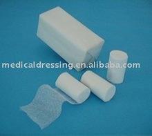 surgical elastic medical wound dressing conforming 100% cotton Gauze Bandage