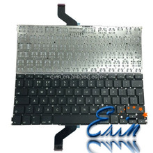 "New Original Laptop Keyboard For Macbook Retina 13"" A1425 US UK DE AR PT SP Keyboard MD212 MD213 2012 2013 Year"
