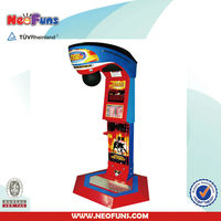 Free Warranty Big Punch Game Prize Machine