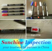 School & Office Supplies Quality Control / Pen and Marker Quality Inspection Services in Ningbo / Cixi / Yuyao