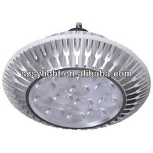 High quality 12W AR111 spotlight fixture round for GU10 track lighting spot replace halogen 100w high brightness LED CE/RoHS