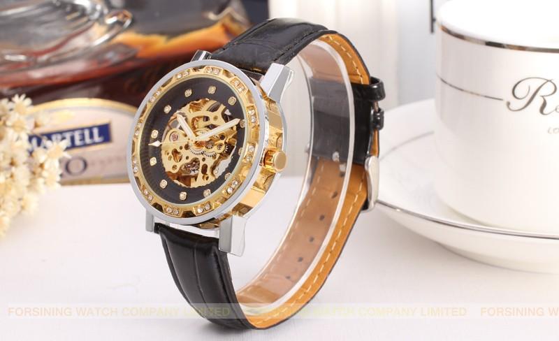 Forsining Автоматическая Мужчины Наручные Часы Мода Дизайн Часы Мужчины Доставка Бесплатно FSG8012M3T2