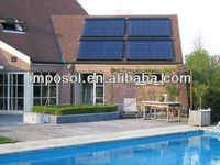 swimming pools hot water heater solar panel made in china