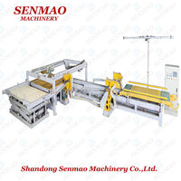 Full automatic infrared plywood sizer machine/four sides cutting saw/USA plywood saw
