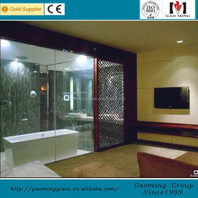 20 years experience/Alibaba trade assurance China laminated glass panel for partition GM-C755