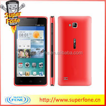 China 4.5 inch dual sim unlocked RAM 256MB ROM 2G android smart phone L960 support 3D music with front camera