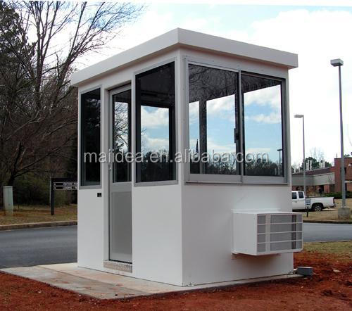 Professional 3d Max Designed Security Guard Booth Guard Security