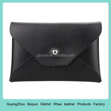 black color cowhide leather card holder wallet company gifts top craft high quality