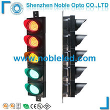 easy instal 100mm small full aspect led traffic light