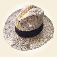 2015 latest hand made seagrass hat