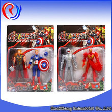 Cartoon toys the avenger toys action figures with weapon