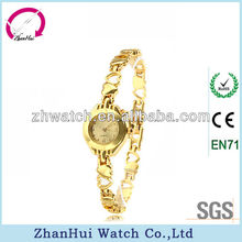 2013 new fashion gold lady antique watches value made in China factory low price high quality in bulk wholesale