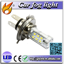 led high lumen auto led headlight h4 21smd 2835 car led fog light