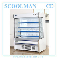 1.5m Supermarket Open Refrigerated Case for Beer