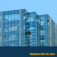 Low-e double glazing insulating glass,curtain wall insulated glass