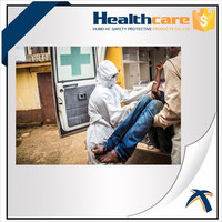 Industrial SMMS type5&6 protective clothing with colour Microporous