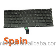 "Replacement spanish keyboard for Apple Macbook Air 13"" A1466 A1369 MD231 MD232 MC503 MC504"