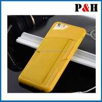 """New Shockproof TPU Credit Card Holder Wallet Case Cover for iPhone5/5S/5G 6 4.7"""""""