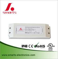 24v 45w constant voltage dimmable led driver/power supply for led lighting