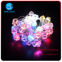 CE Approved Fairy Copper Wire Outdoor Patio Christmas LED peal String Lights