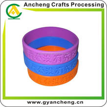eco-friendly qr code silicone bracelet id with SGS Certificate