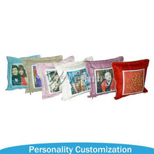 Customize company logo and brand printed print shaped sublimation beads pillow