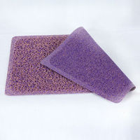 Pure color household plastic door mat color can be customized