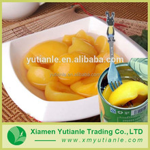 Wholesale china market canned yellow white peach