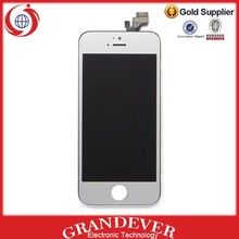 Hot selling Multi-color plated LCD display assembly for iphone 5,for iphone 5 plated LCD display assembly