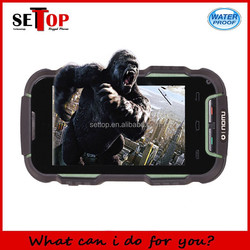 waterproof smartphone 4.0 inch quad core MTK6589 android 4.2