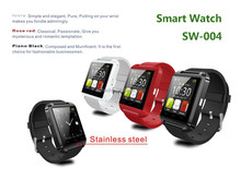 ATZ new bluetooth 4.0 smart watch remote control camera smart watch support Sim Card 32gb for android phone