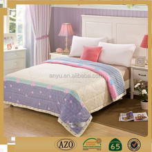 Love pattern and little bit design duvet cover set bed sheet made in china