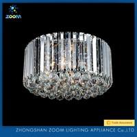 Elegant design splendid top 1 Chinese crystal ceiling luminaire for living room