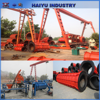 Concrete pipe making machine,suspended cement pipe machine Reinforced cement pipe forming machine for drain/road construction