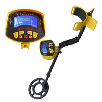 MD-3010 II well-featured underground metal detector with large LCD display.