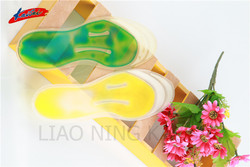 Glycerin Liquid Filled Massaging Insoles Fabric+glycerin+TPU