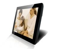 "SH1502DPF digital photo frame 15"" ad player mp3 mp4 loop video play high resolution"